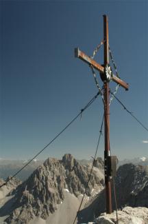 Gipfelkreuz der Kogelseespitze