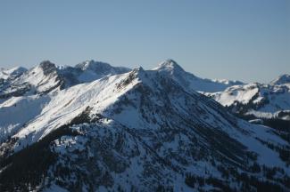 Krinnenspitze von Osten
