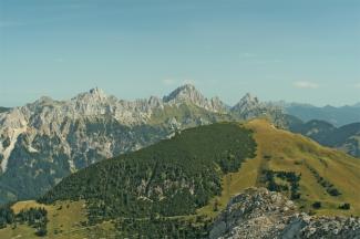 Gipfelblick von der Litnis