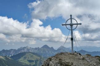 Leilachspitze Gipfelkreuz