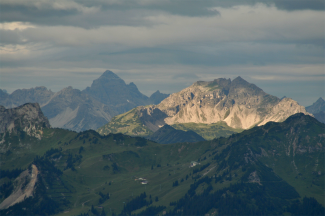 Hochvogel und Leilachspitze
