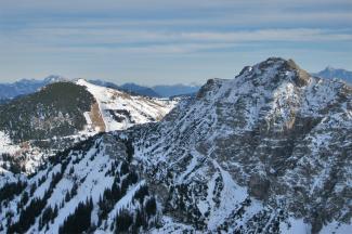 Krinnenspitze und Litnisschrofen
