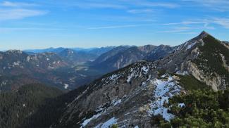 Graswangtal und Scheinbergspitze