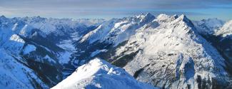 Gipfelpanorama Elmer Muttekopf