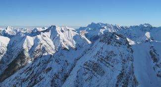 Gipfelmeer östlich des Elmer Muttekopfes