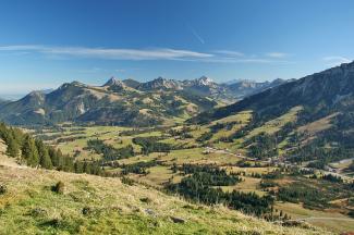 Ausblick vom Ornach