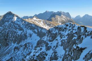 Gipfelblick vom Pitzenegg