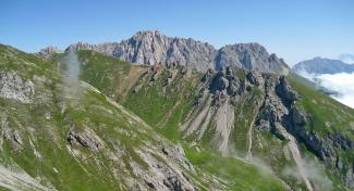 Platteinspitzen und Hinteres Alpjoch
