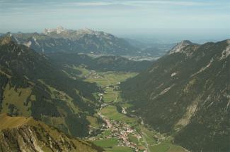 Gipfelblick von der Bleispitze