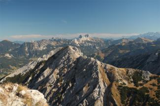 Rohnenspitze und Tannheimer Berge