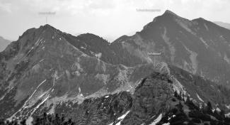 Lösertalkopf und Scheinbergspitze