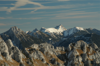 Gehrenspitz-Ostgrat und Ammergauer Berge