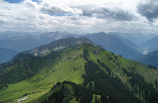Lechaschauer Alpe und Hahnenkamm