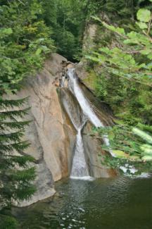 Wasserfall in der Starzlachklamm