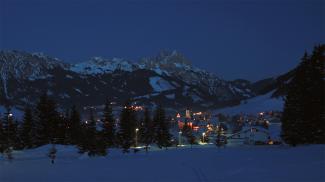 Tannheim bei Nacht