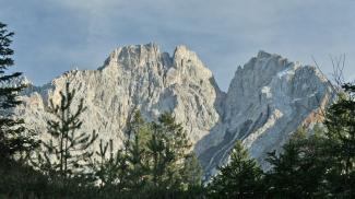 Wampeter Schrofen und Marienbergspitze