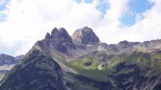 Hermannskarturm, Hermannskarspitze und Marchspitze