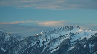 Gaichtspitze und Hornbergle