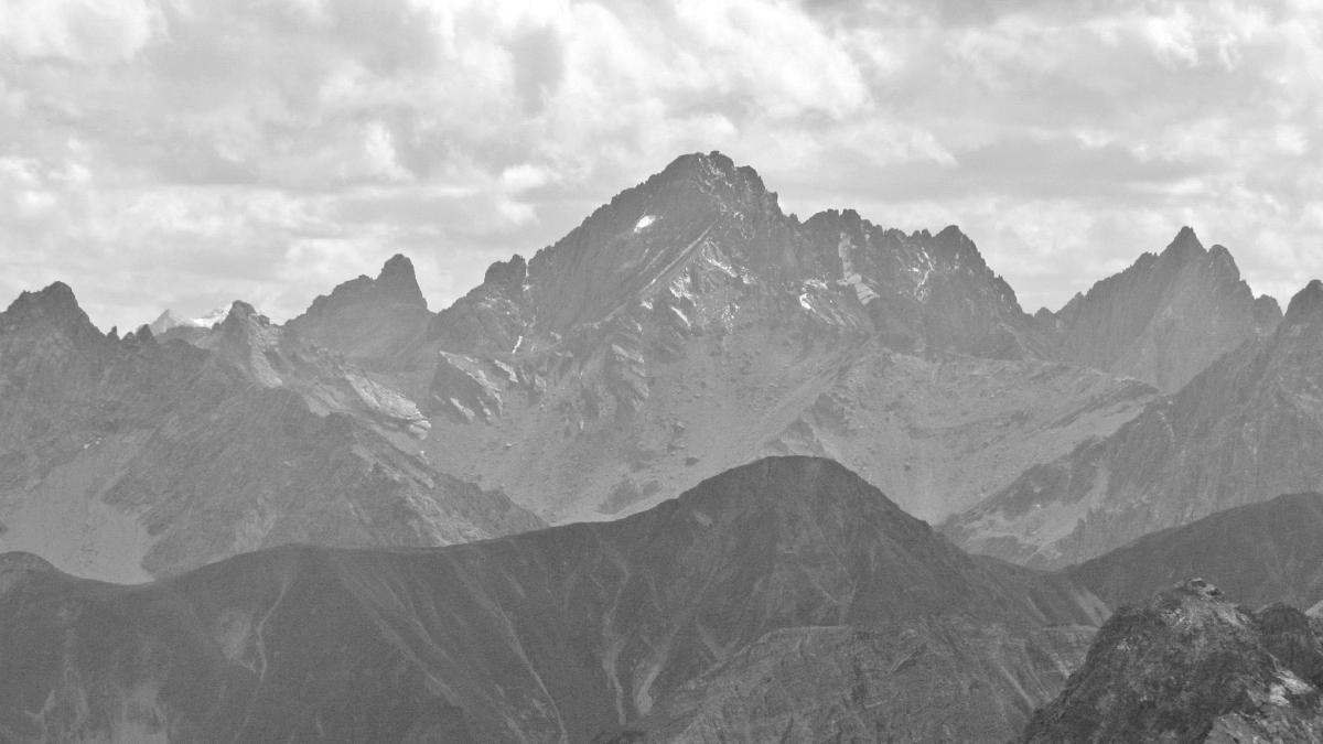 die Große Schlenkerspitze gehört zu den ganz Großen der Lechtaler Alpen