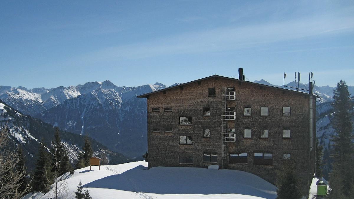 das Gimpelhaus - eine der am stärksten frequentierten Hütten im gesamten Forumsgebiet