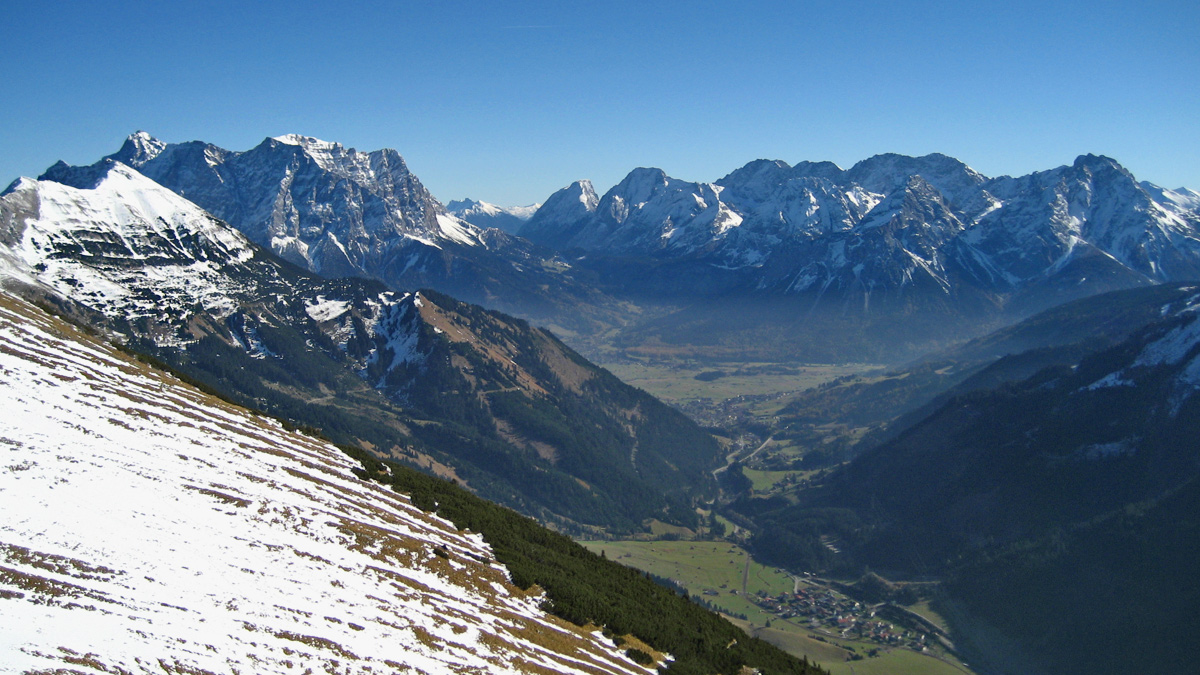 kohlbergspitze lähn wetterstein zugspitze mieminger berge
