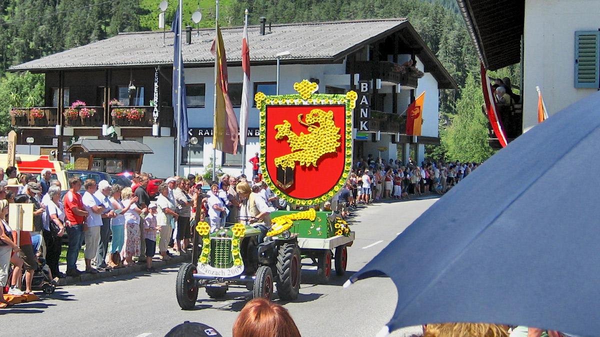 Festwagen der Stanzacher