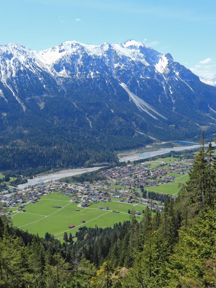weißenbach schartenberg schwarzhanskarspitze