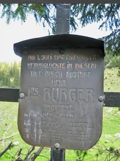1906 burger gehrenspitze absturz