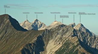 Gipfelblick von der Schlierewand