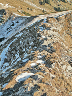 Gipfelgrat an der Schneid