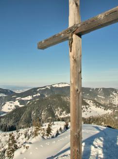 am Gipfel des Schönkahlers