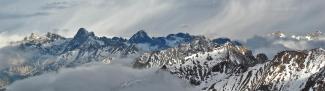 Panoramablick vom Stanskogel