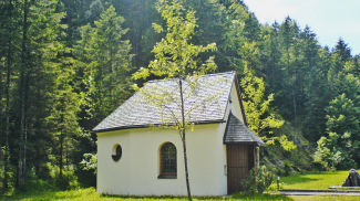 frauenbrünnele kapelle plansee