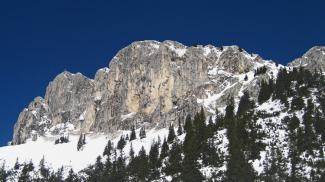 Rote Flüh - Südwand