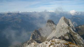 Gipfelblick von der Köllenspitze