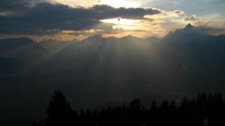 abends am Dürrenberg