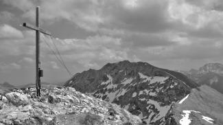 Gipfelkreuz an der Krähe