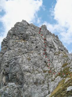 Gabelschrofen-Aufstieg