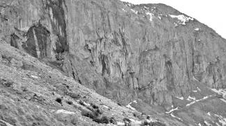 Niederer Straußberg - Nordwand