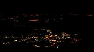 Reutte bei Nacht