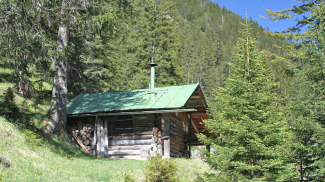 Jagdhütte im Pitzental
