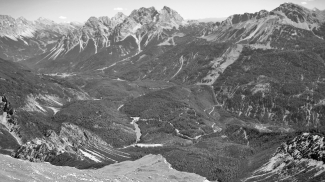 Bergsturzgebiet