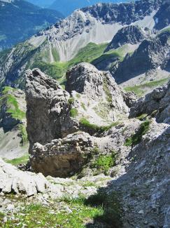 Roter Stein Südsteig