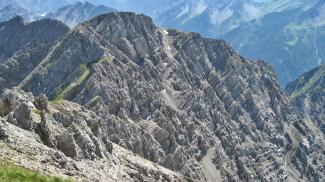 Steinmandlspitze Nordwestflanke