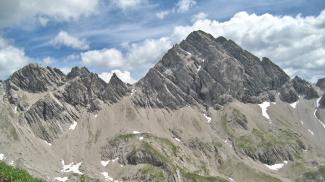 Faulenwandspitzen und Marchspitze