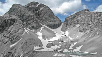 Großer Krottenkopf und Hermannskarsee