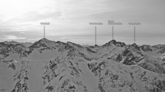Gipfelblick von der Namloser Wetterspitze