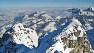 Gipfelblick vom Ponten