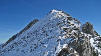Ponten Gipfelgrat