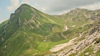 Rote Spitze und Steinkarspitze